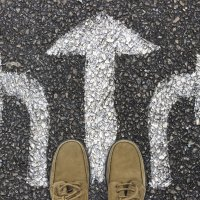 Die Entscheidung nach unten abgewälzt: eine gute Entscheidung!